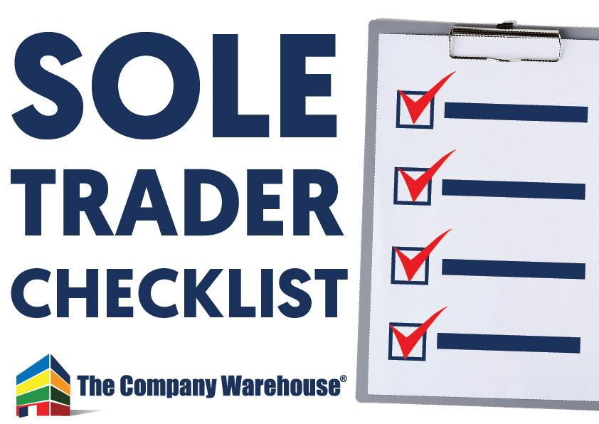 Sole Trader Registration Checklist