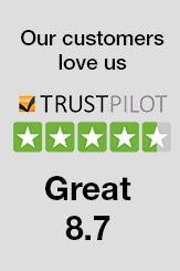 See our TrustPilot Reviews