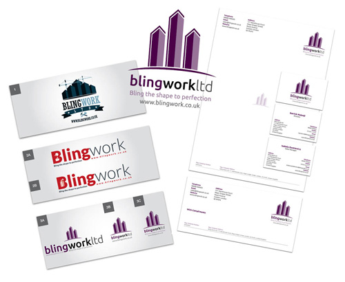 Bling Work's Website Design