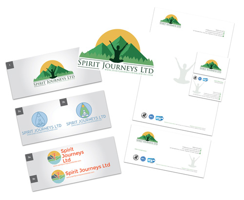 Spirit Journeys' Website Design