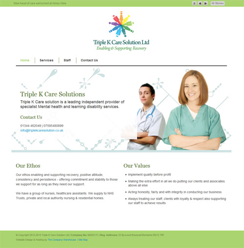 Triple K Care Solutions Design