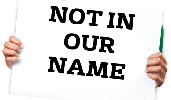 Not in Our Name Trademark Dispute
