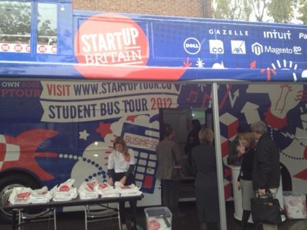 Startup Britain Bus Side